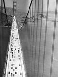 On the Golden Gate Fotografisk tryk af Hulton Archive