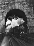The Forth Bridge Lámina fotográfica por Central Press