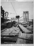 Brooklyn Bridge Photographic Print by Hulton Archive