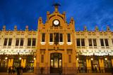 Modernista Facade of Estacion Del Norte (North Train Station), Valencia, Spain, Europe Photographic Print by Greg Elms