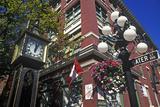 Steam Clock, Vancouver, Canada Impressão fotográfica por Hans Peter Merten