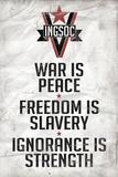 1984 INGSOC Big Brother Political Slogans Pôsteres
