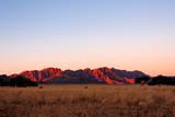 Naukluft Mountain Range at Sunset - Namibia Fotografisk tryk af  JLR