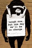 Monkey Laugh Now Kunstdrucke