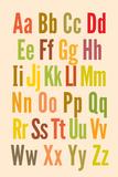 Alfabeto Pôsteres