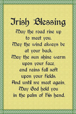 Irish Blessing Kunstdruck