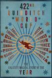 """VM i Quidditch, """"422nd Quidditch World Cup"""" Planscher"""