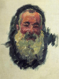 Monet Self Portrait Posters por Claude Monet