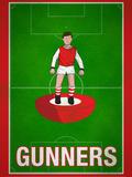 Gunners Football Soccer Sports Affiche