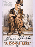 A Dog's Life Movie Charlie Chaplin Print