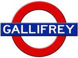 Gallifrey Subway Travel Julisteet