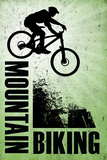 Mountain Biking Green Sports Billeder