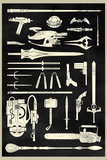 Tools of the Trade - Hero Weapons Poster