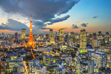 Tokyo Tower in Tokyo, Japan Photographic Print by  SeanPavonePhoto