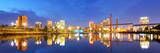 Skyline of Birmingham, Alabama from Railroad Park. Photographic Print by  SeanPavonePhoto