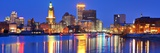 Providence, Rhode Island, USA Panorama from across the Providence River. Photographic Print by  SeanPavonePhoto
