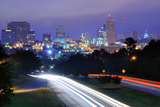 Skyline of Downtown Columbia, South Carolina from above Jarvis Kaplan Blvd. Photographic Print by  SeanPavonePhoto