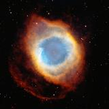 Helix Nebula, Satellite View (Digital Composite) Fotografie-Druck von  Stocktrek
