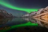 Sunday Night in Ersfjordbotn Lámina fotográfica por John Hemmingsen