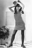 Woman Modeling Fashion Impressão fotográfica por George Marks