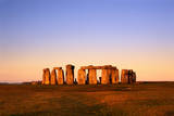 England, Wiltshire, Stonehenge at Dawn Photographic Print by Jeremy Walker