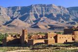 Kasbah in Atlas Mountain Fotografisk tryk af Visions Of Our Land