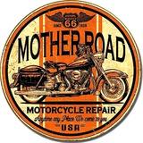 Mother Road Repair Blikskilt