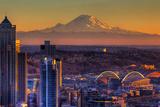 Seattle Premium fotografisk trykk av Alaska Photography