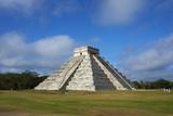 Mexico, Yucatan, Chichen Itza, Pyramid El Castillo Photographic Print by Bruno Morandi