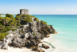 Ruins of Tulum Photographic Print by Alan Smithers