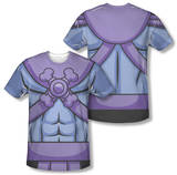 Masters of the Universe - Skeletor Costume Tee (Front/Back Print) Sublimated