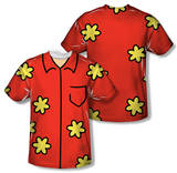 Youth: Family Guy - Quagmire Costume Tee (Front/Back Print) T-shirts