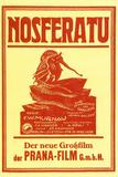 Nosferatu Movie Max Schreck 1922 Poster Print Plakat