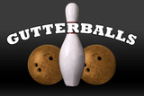 Gutterballs a Jackie Treehorn Production Movie Poster Pôsters