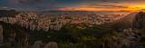 180 Degree Panorama of Hong Kong Island Fotografie-Druck von coolbiere photograph
