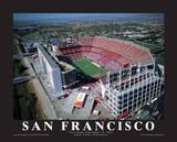San Francisco 49er's First Game at Levi's Stadium, Santa Clara, California (9/14/14) Prints by Mike Smith
