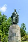 Statue of Afonso I, Guimaraes, Portugal Fotografisk trykk av  jiawangkun