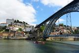 Porto City and Dom Luís Bridge, Portugal Fotografisk trykk av  jiawangkun