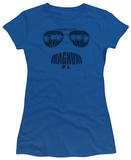 Juniors: Magnum P.I. - Face It T-Shirt