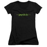 Juniors: Psych - The Psychic Is In V-Neck Womens V-Necks