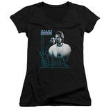 Juniors: Miami Vice - Looking Out V-Neck Womens V-Necks