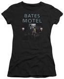 Juniors: Bates Motel - Motel Room T-shirts