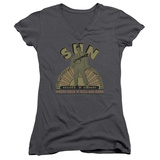 Juniors: Elvis Presley - Original Son V-Neck Womens V-Necks