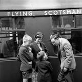 Flying Scotsman Impressão fotográfica por John Drysdale