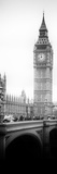 View of Big Ben from across the Westminster Bridge - London - England - UK - Door Poster Photographic Print by Philippe Hugonnard