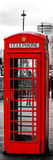 Red Telephone Booths - London - UK - England - United Kingdom - Europe - Door Poster Fotografisk trykk av Philippe Hugonnard