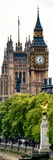 The Houses of Parliament and Big Ben - City of London - England - United Kingdom - Door Poster Photographic Print by Philippe Hugonnard