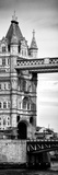 Tower Bridge with Red Bus in London - City of London - UK - England - United Kingdom - Door Poster Photographic Print by Philippe Hugonnard