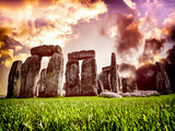 Stonehenge - Historic Wessex - Shrewton - Wiltshire - English Heritage - UK - England Photographic Print by Philippe Hugonnard