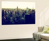 Wall Mural - Manhattan Skyline with the Empire State Building - New York Seinämaalaus tekijänä Philippe Hugonnard